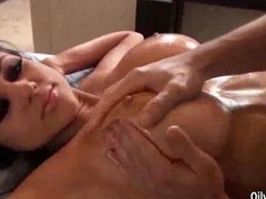 Audrey Bitoni Gets Hot Oily Massage Sex