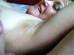 drippy cumming on squirtys armpits
