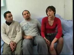 French Teen Daisy Gangbanged